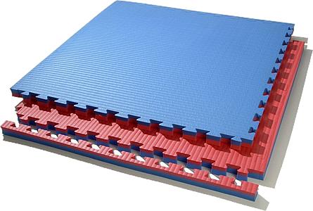 Двусторонние мягкие плитки 18 и 25 мм