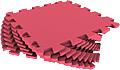 Набор мягких плиток 30*30 см. Красный. 30МП/120. Мягкий пол. Мягкое модульное покрытие. Коврики пазлы. Пол в детскую комнату.