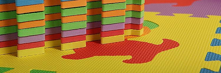 Игровые наборы мягких детских плиток 30*30 см